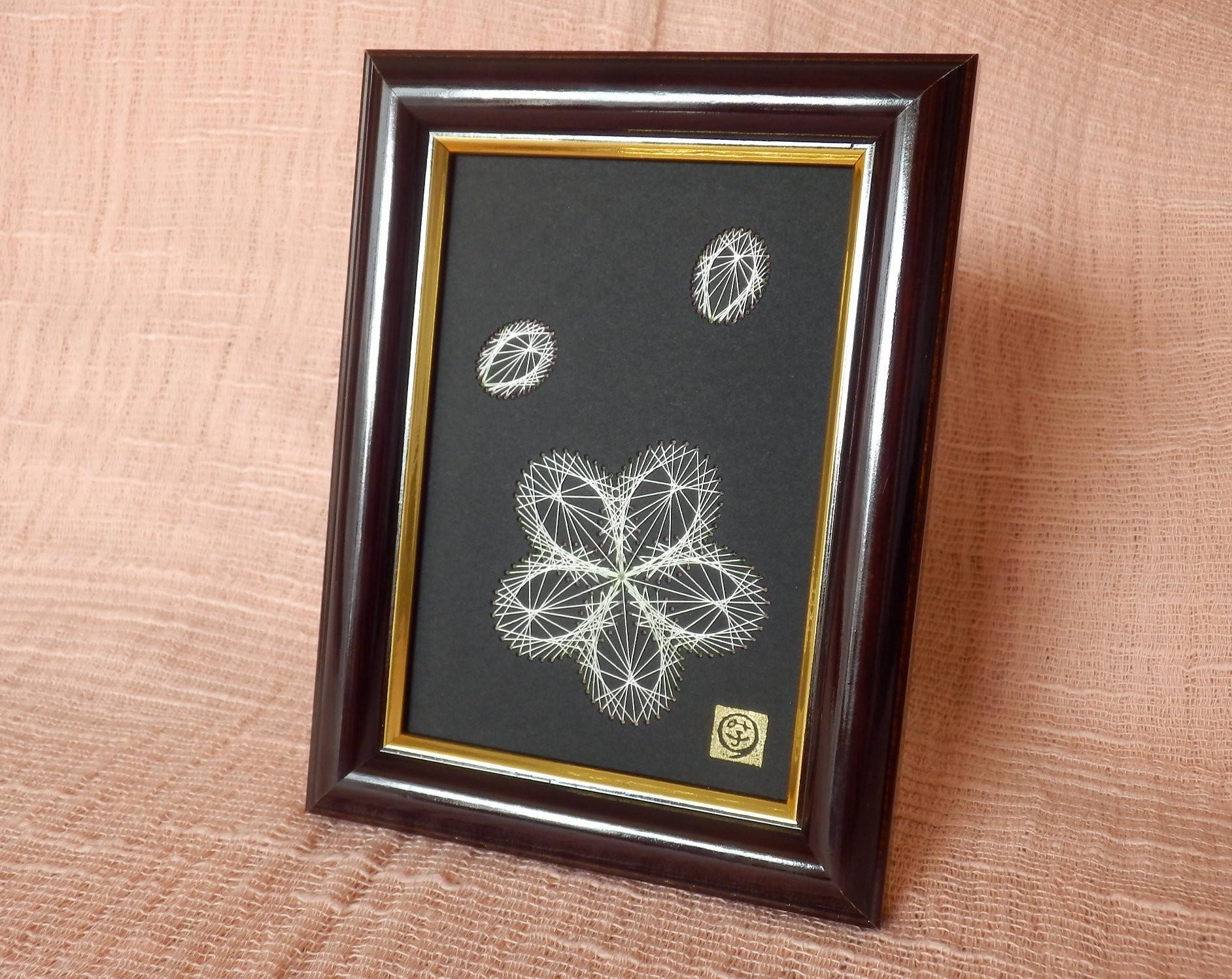 さくら咲く【糸とおし】