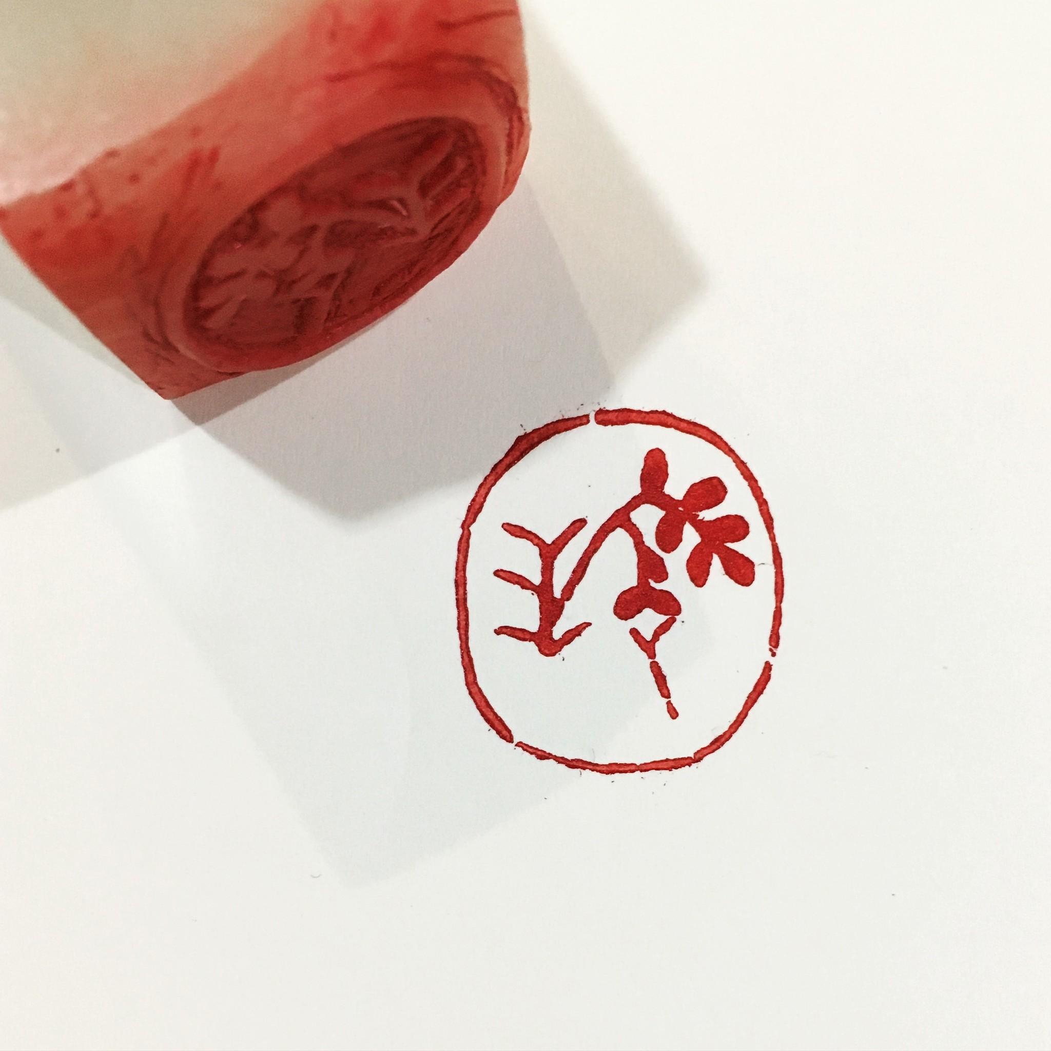 篆刻ハンコを「マイロゴ」にして楽しもう!