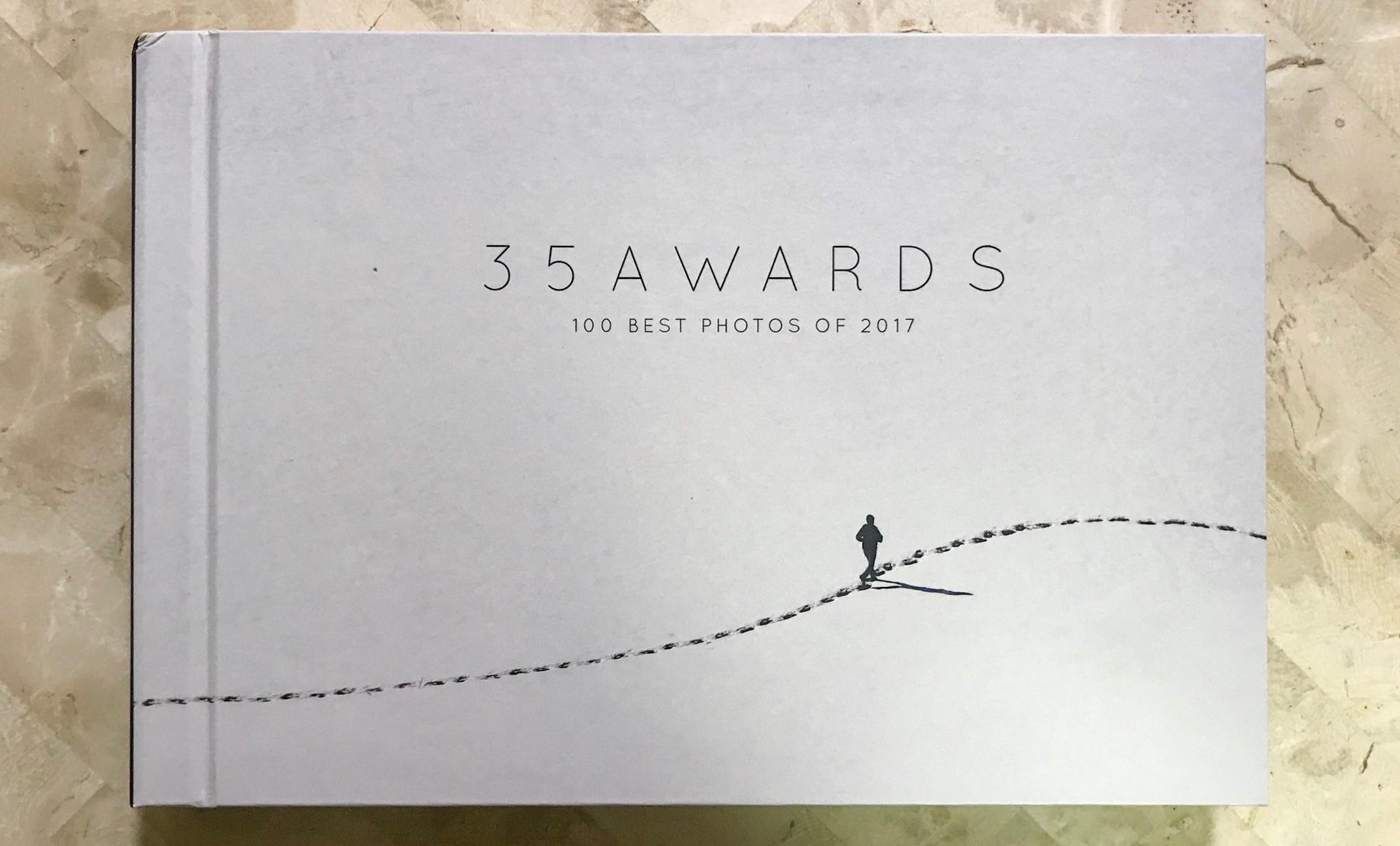 遠くロシアから35AWARDS受賞写真集が届きました