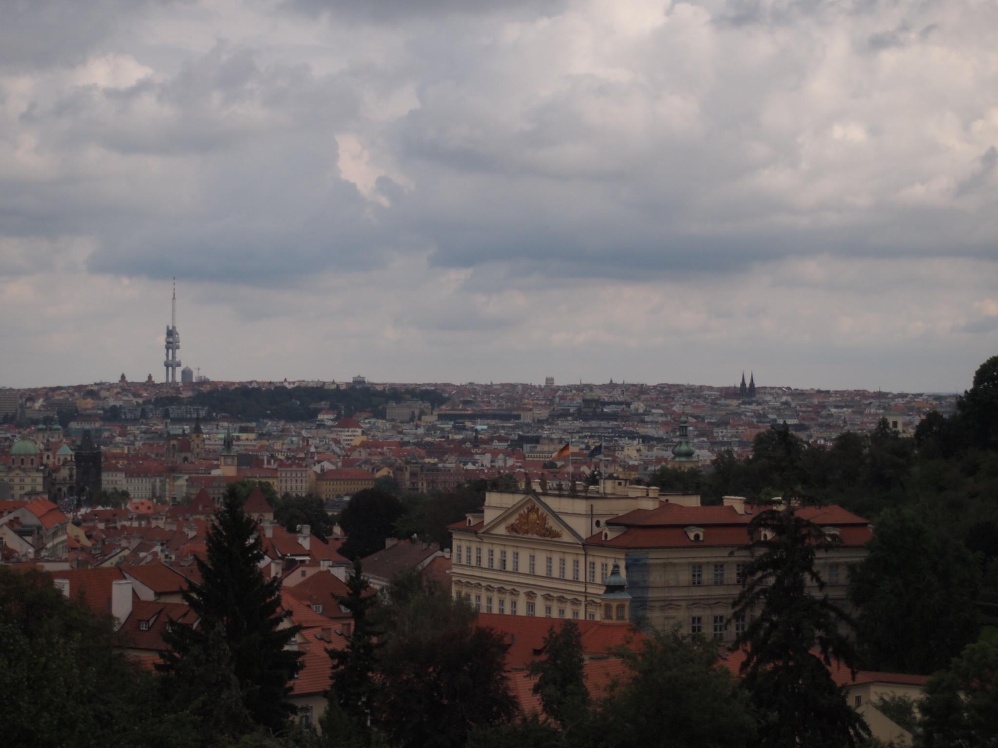 プラハ城からの風景