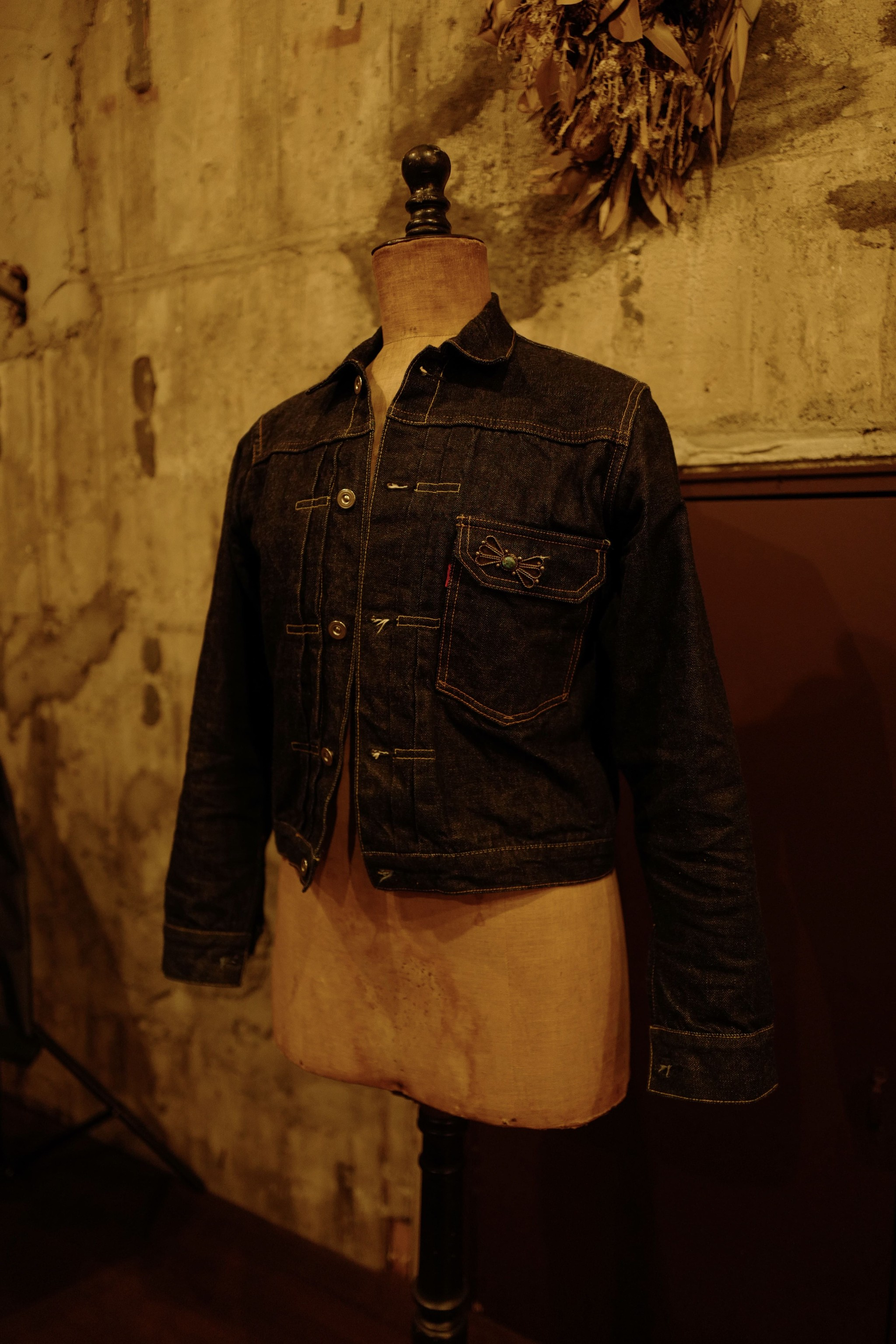 Bryceland's denim jacketの入荷