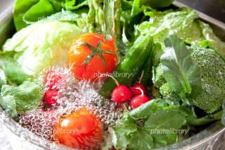 野菜を洗う時も!
