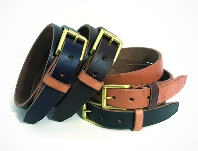 RE.ACT Leather Works U.K. Saddle Leather Belt