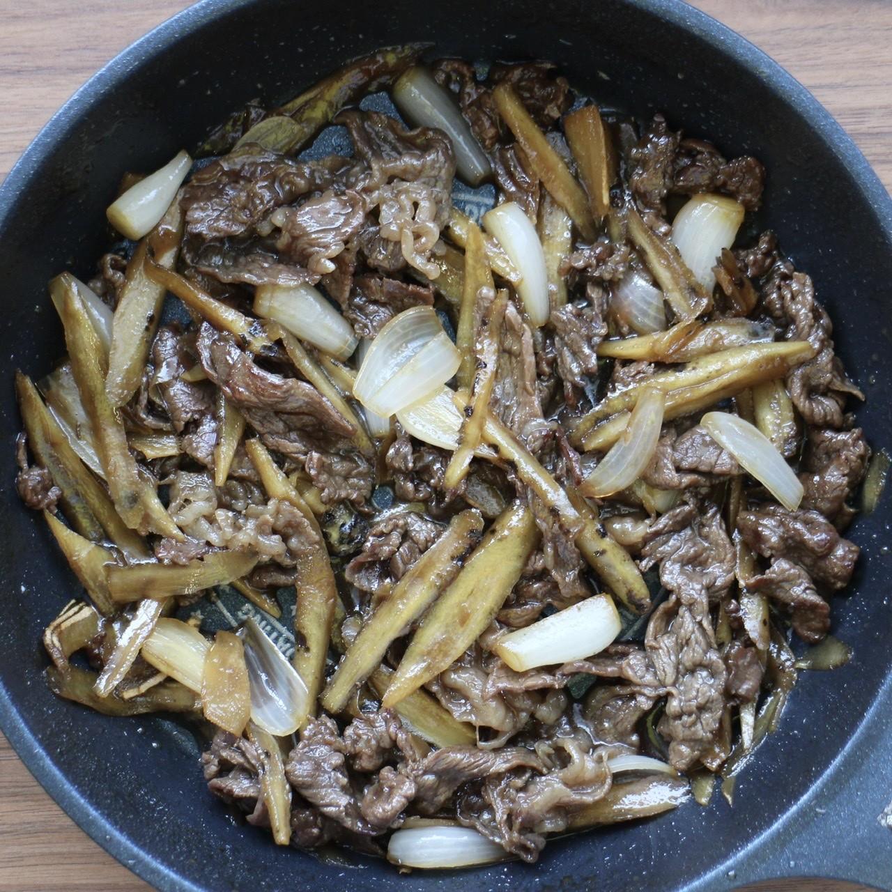 アレンジレシピ⑩「牛肉のしぐれ煮」