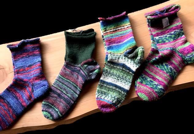 靴下編み教室始まります(全4回)