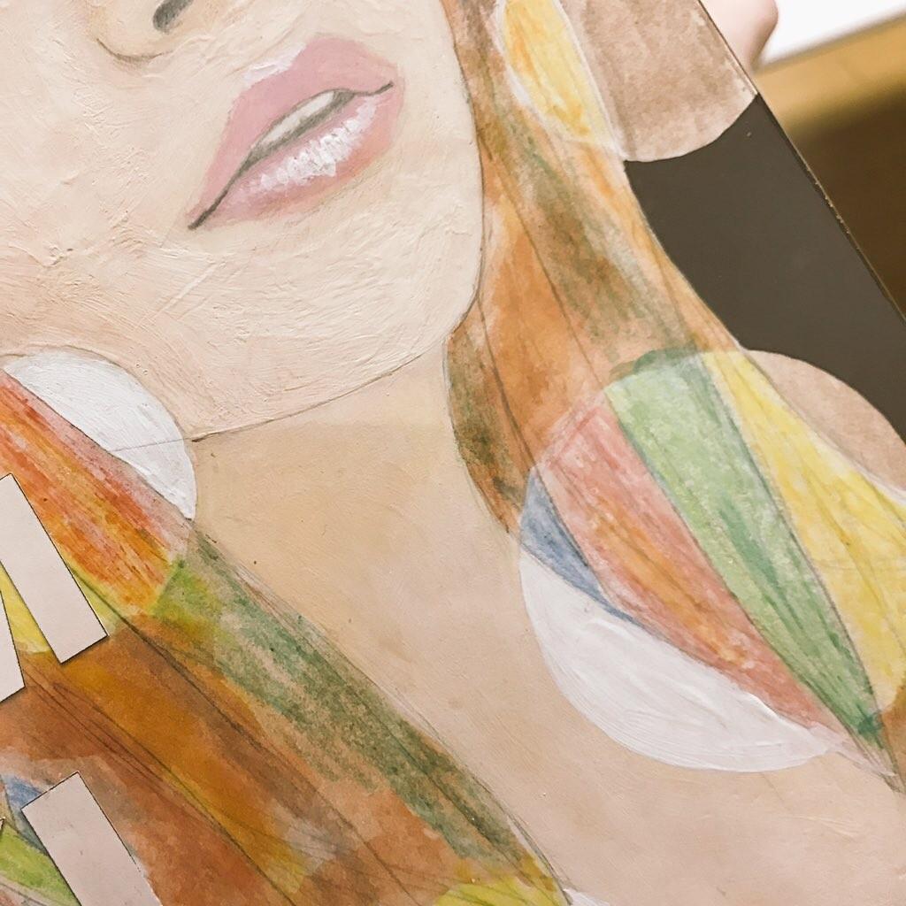 【日記】クレヨンで絵やイラストを描くのは人生で初めてです。