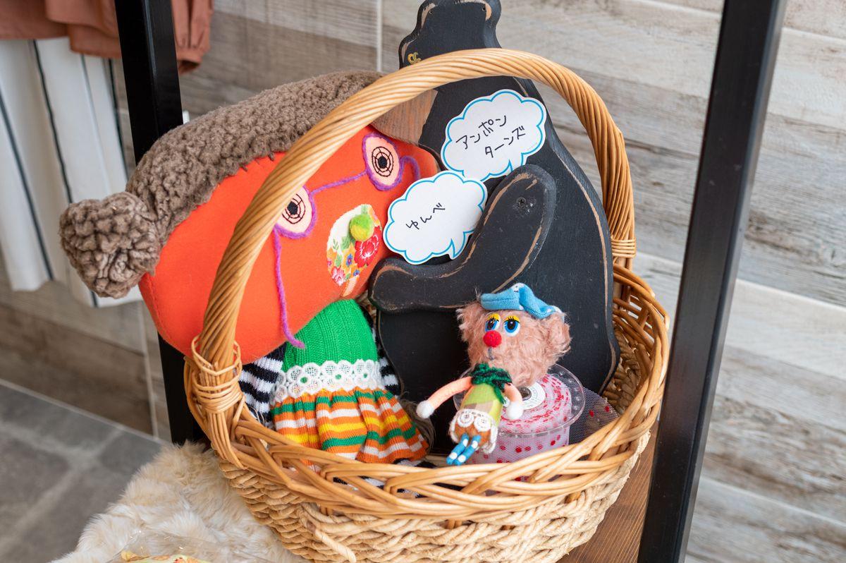 9月クリエイターズコーナー 「手作り人形&がま口財布」