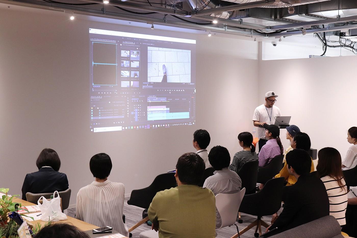 イベント「スマホで始めるビデオグラファー~おしゃれな動画の制作実演」を開催しました