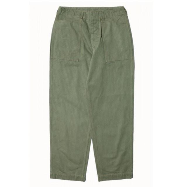 4年着用すると。JOHN GLUCKOW「Field Trousers」...