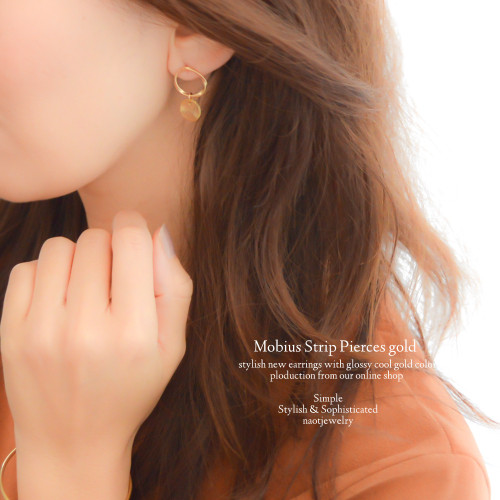 PICK UP ITEM-Mobius Strip Pierce(silver・gold)