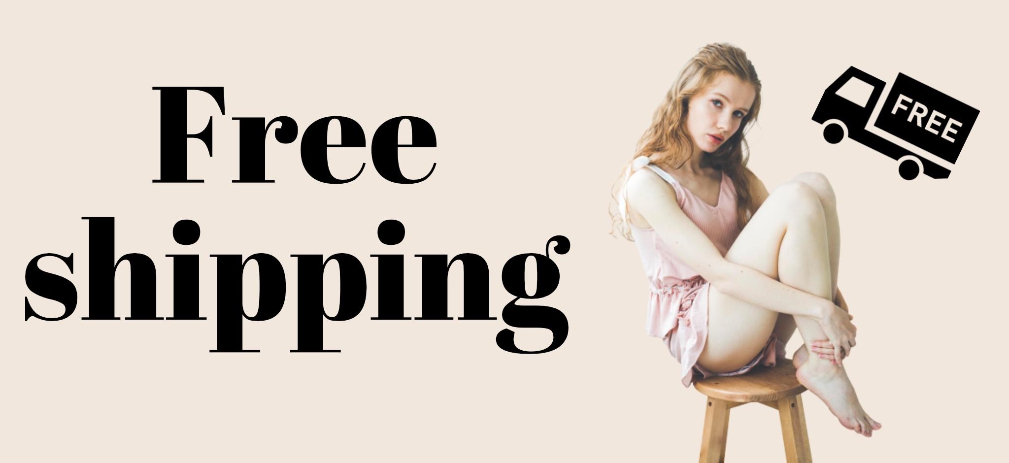 【Information】Free shipping!増税前のおまとめ買いのチャンス