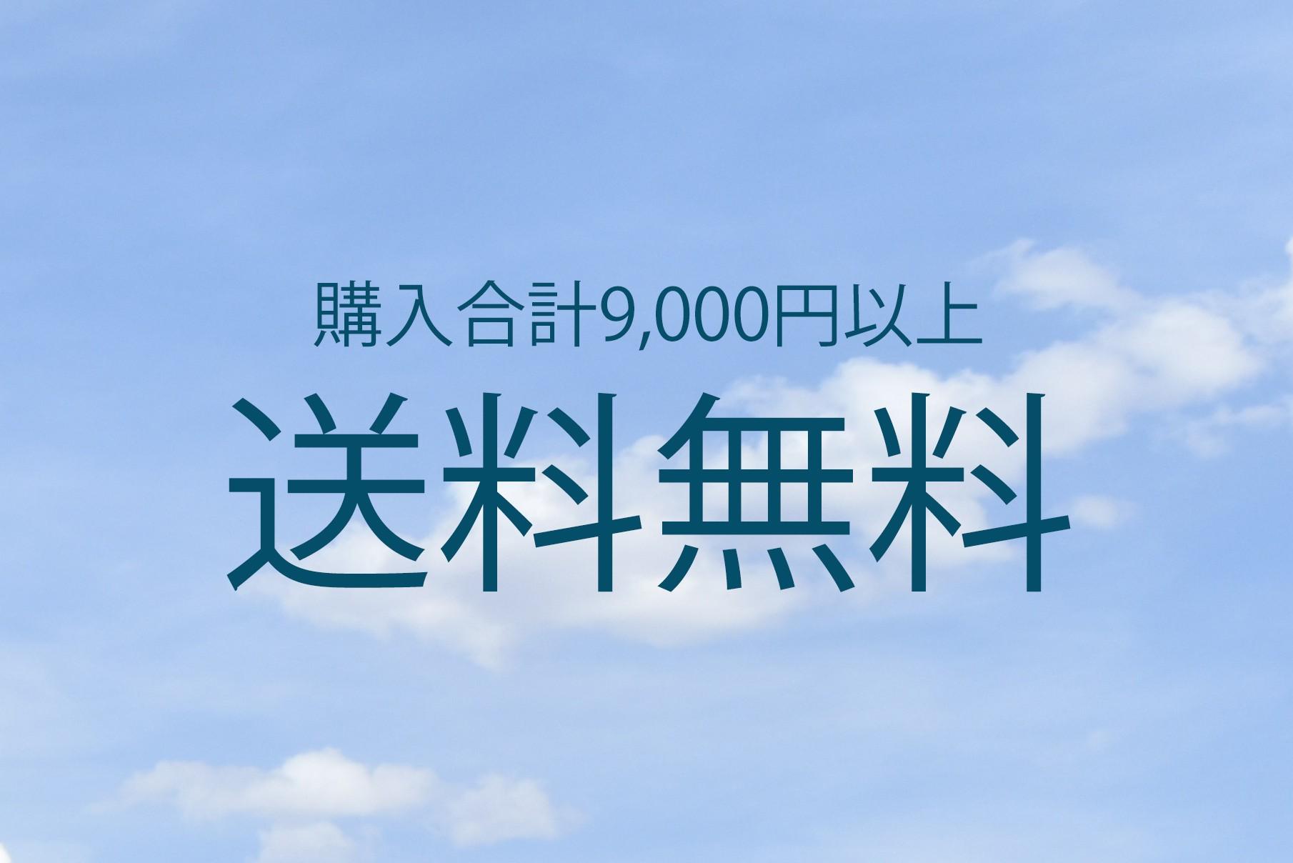 【購入合計9,000円以上】送料無料