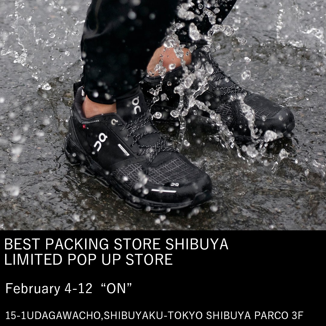 BEST PACKING STORE SHIBUYA LIMITED POPUPSTORE Vol2