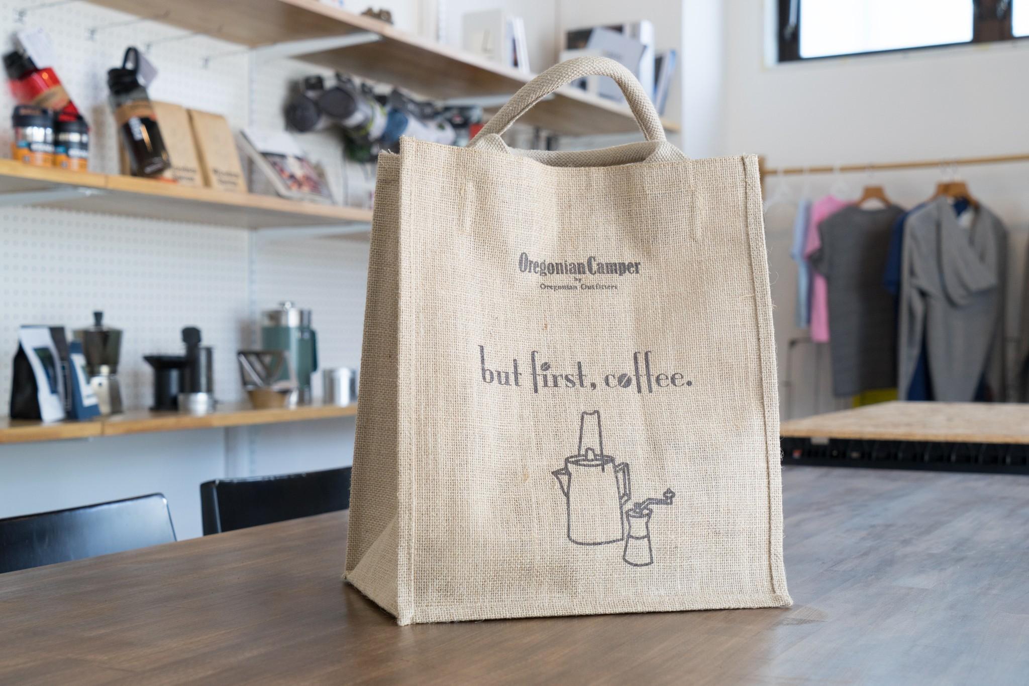 Oregonian Camper ジュートキャリーオールバッグ (Sサイズ) COFFEE 入荷!