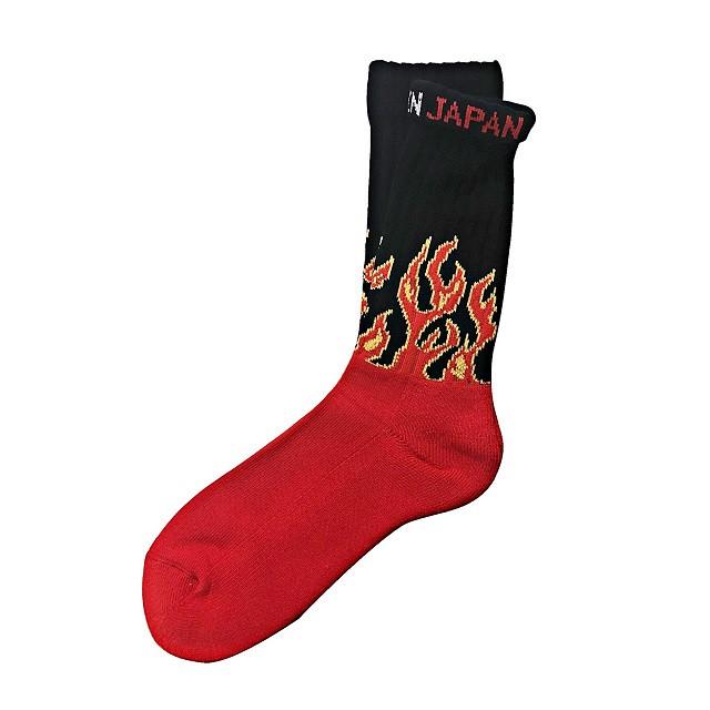 """Fire Burning"" Socks 再入荷🔥"