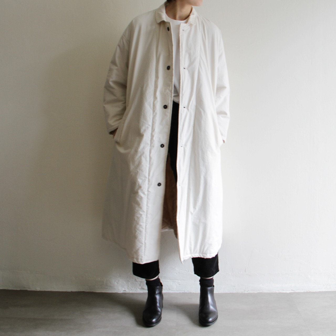Yarmo quilt lined coat