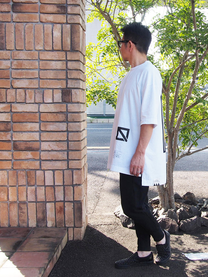DEVILS HAIRCUT×EGO TRIPPING TEE S/S