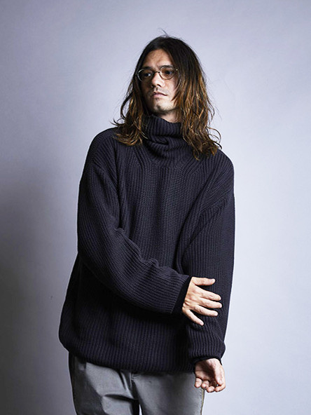 EGO TRIPPING | LOOSE TURTLE KNIT