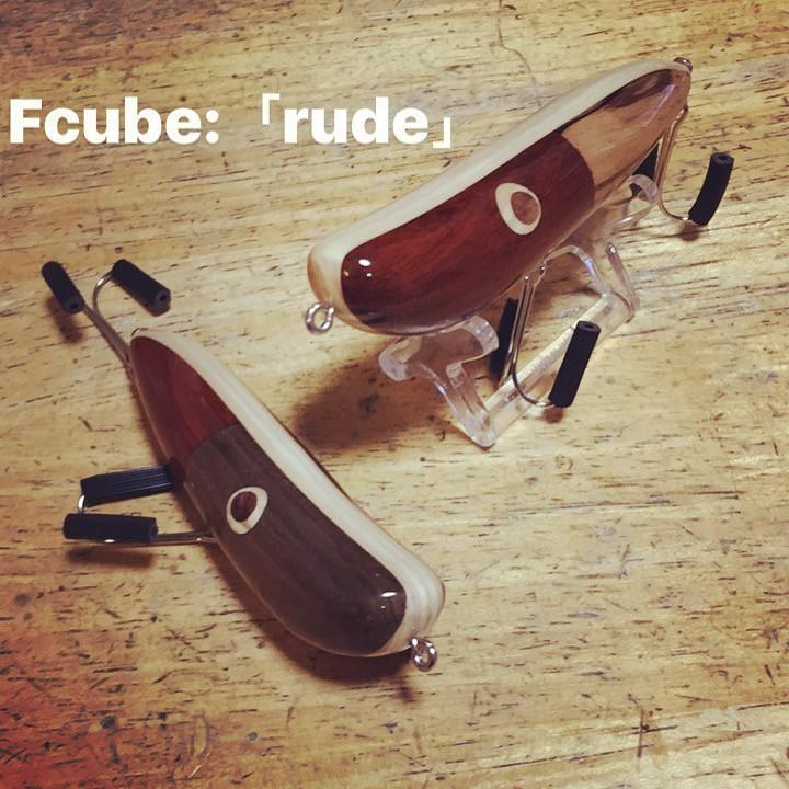使い易く素直なペンシルベイト「rude」