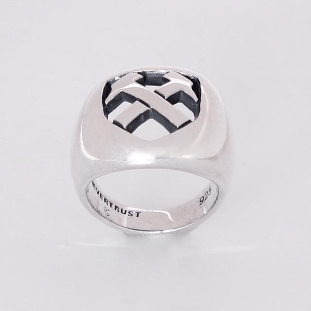 UK EXTRA HAMMERS SILVER RING