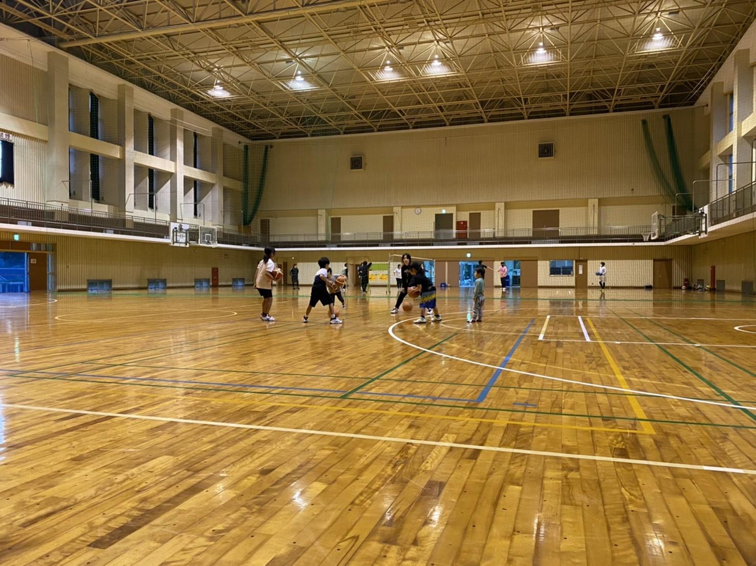 【アカデミー活動:川内校バスケットボール教室】