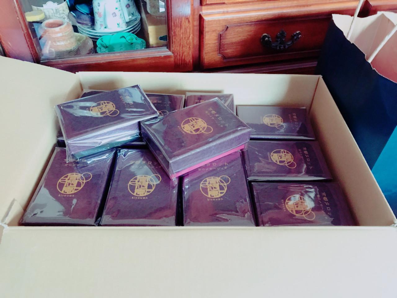 京都タロット カードデッキ、ネット販売開始!