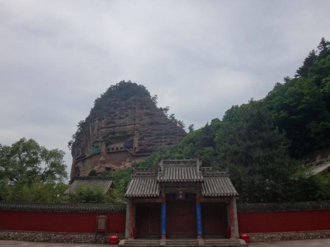 陝西省から西へ・青海省・甘粛省の旅*天水 麦積山石窟