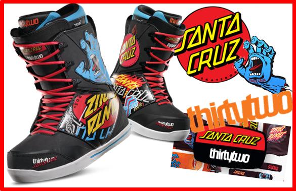 thirty two× SANTA CRUZ スノーボード ブーツ入荷!