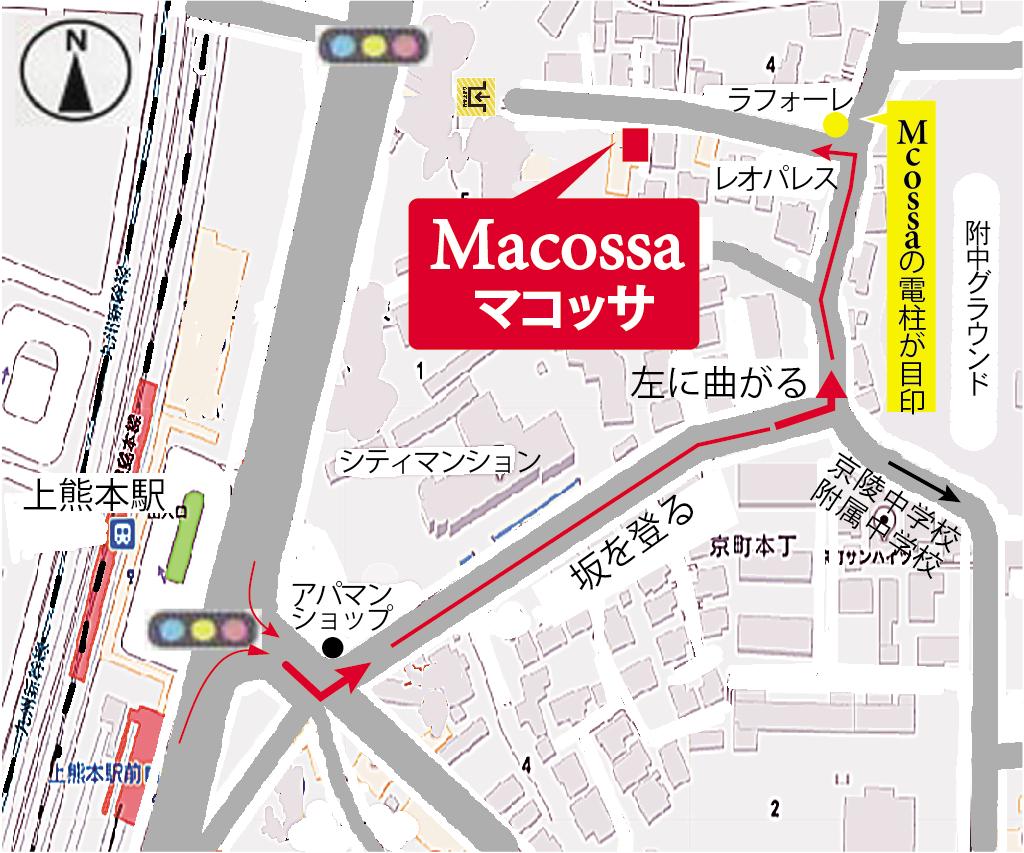 Macossaの地図