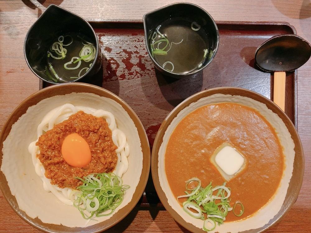 日本一カレーうどんのうまい店とコラボカレーうどんを販売しました。