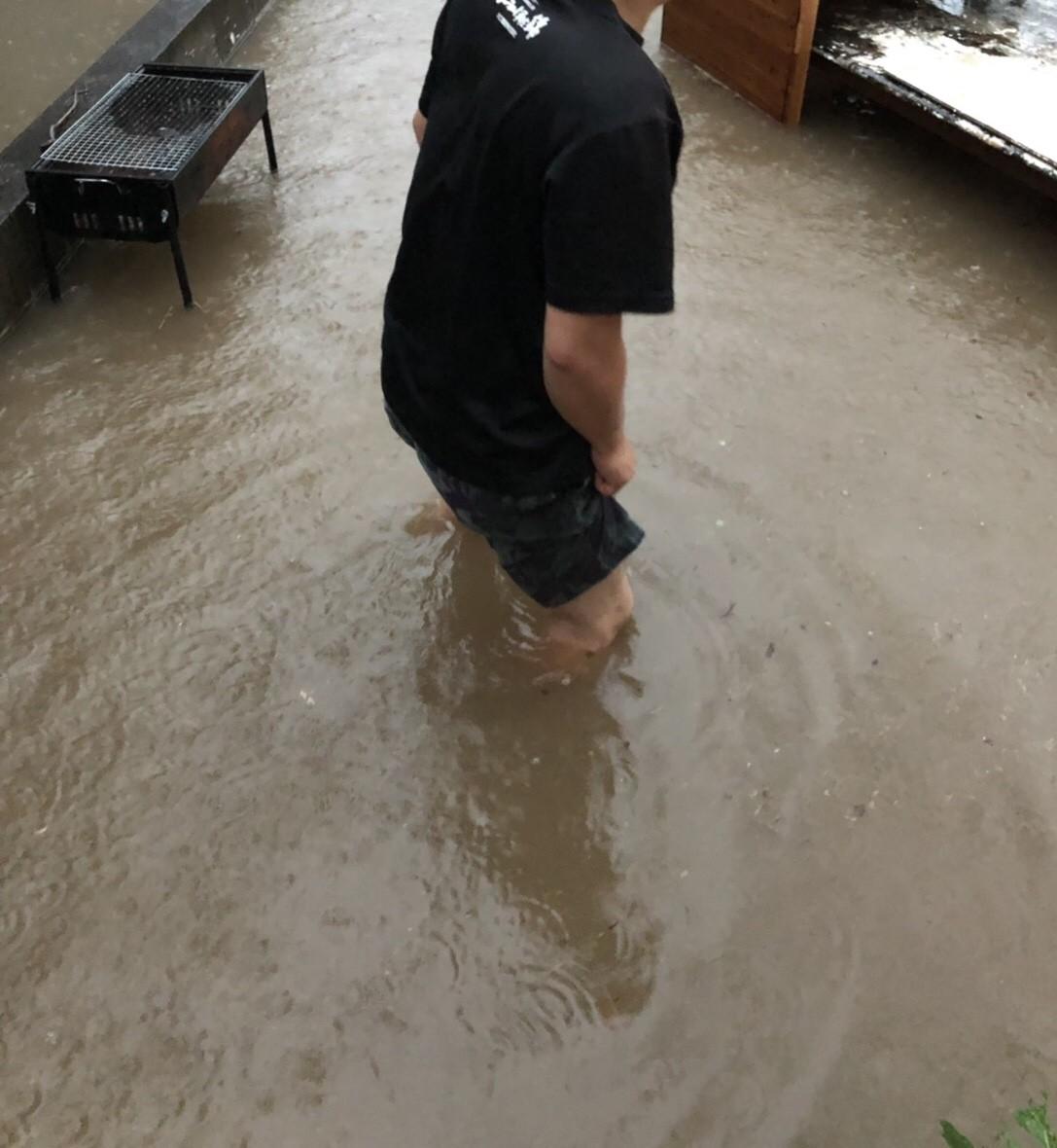 浸水被害について