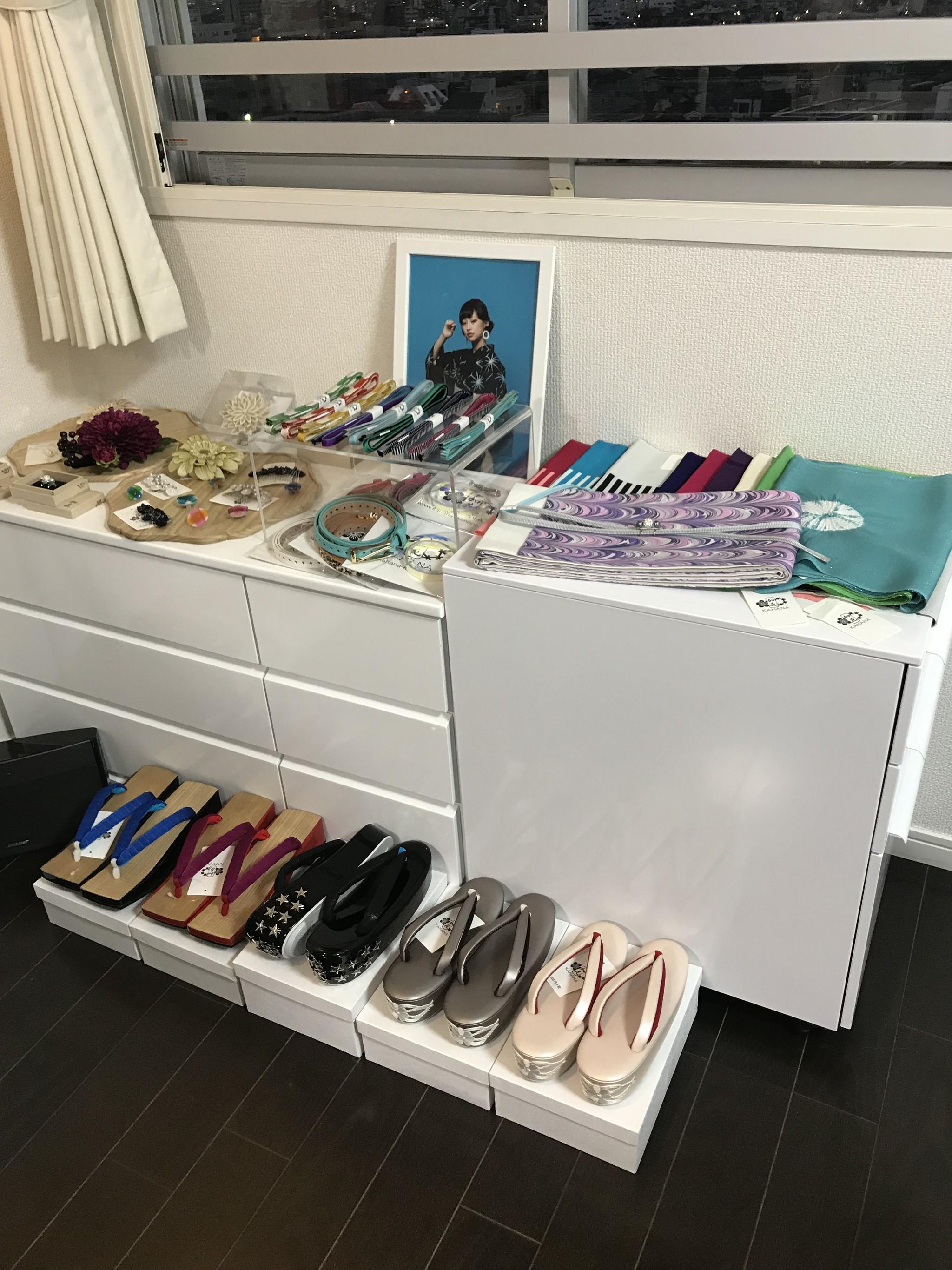 加花-KAHANA 2019年SS展示会開催中です!