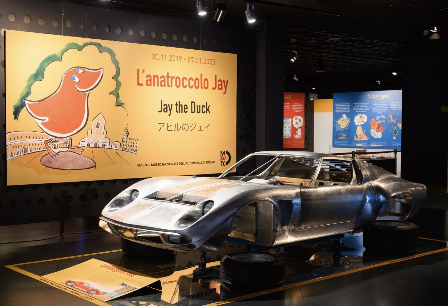 イタリア トリノ国立自動車博物館を「アヒルのジェイ」がジャックしました!