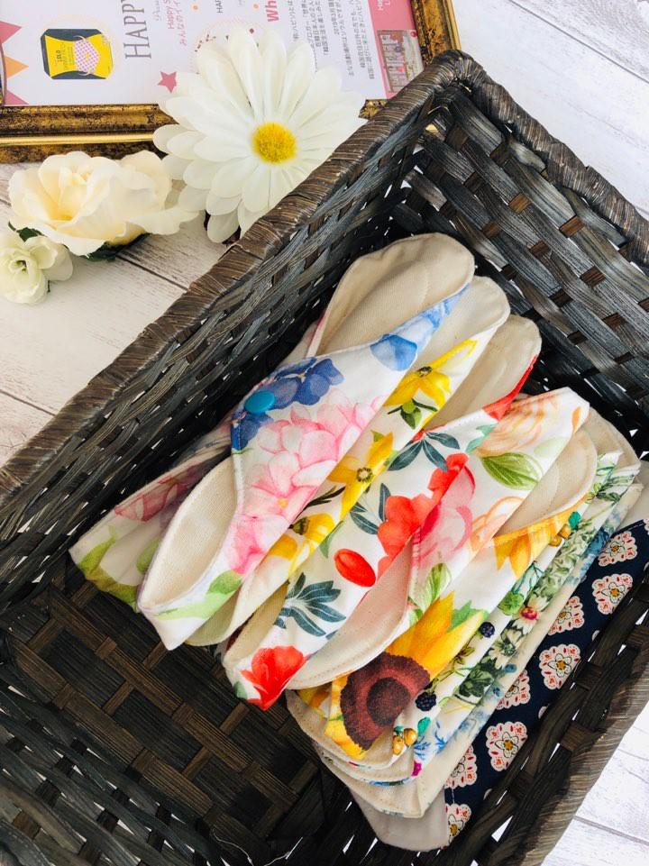 布ナプキンに変えるだけで実感できる驚きの変化♡