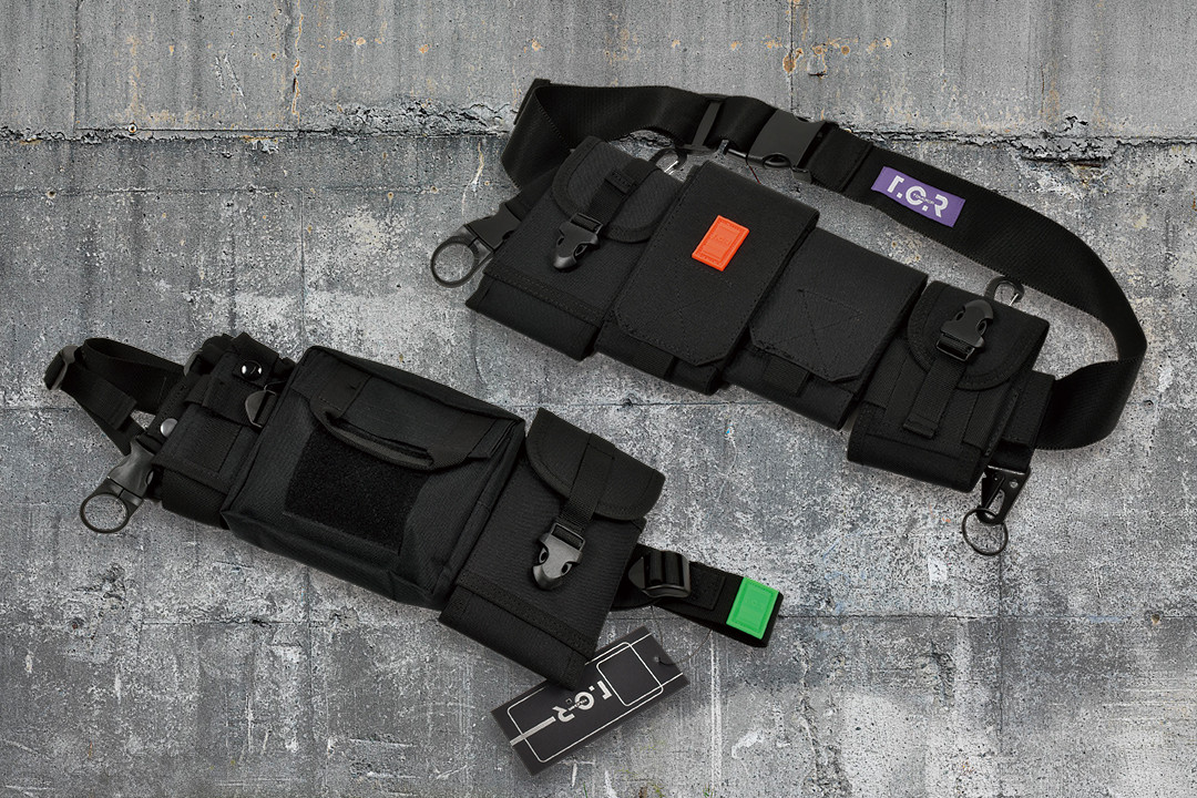 NEON RUBBER LOGO MILITARY BAG & WAIST BAGが発売開始