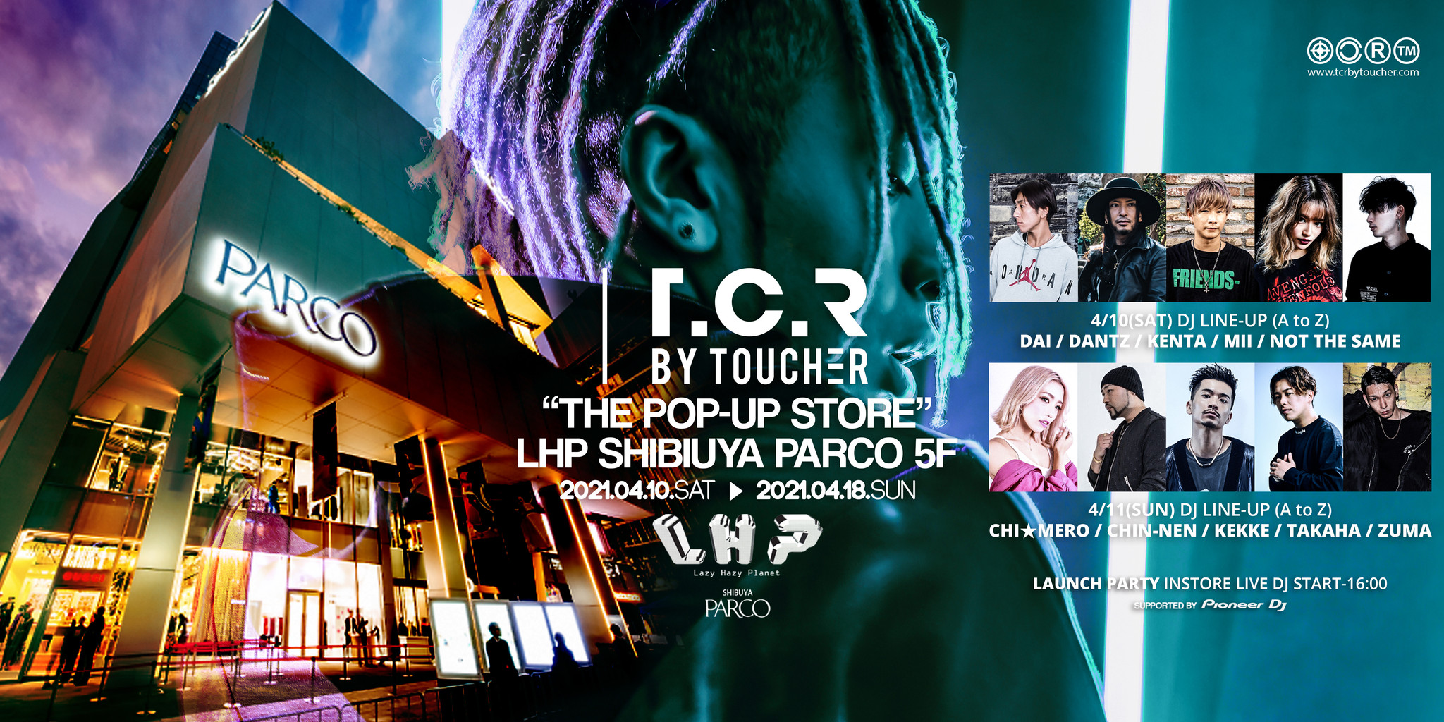 2021.04.10.SAT - THE POP-UP STORE LHP渋谷PARCO店にて開催