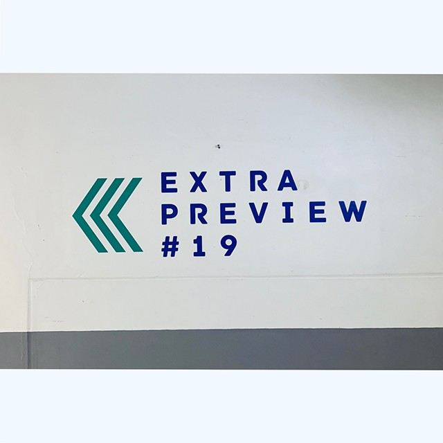 EXTRA PRVIEW出展させていただきました。