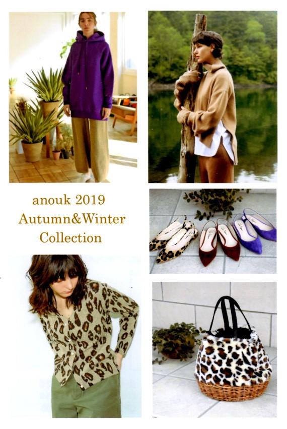 anouk 2019 Autumn&Winter Collection