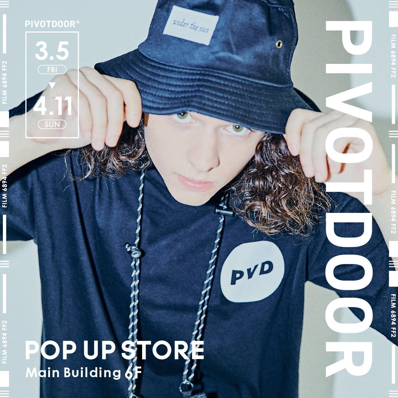 仙台パルコ PIVOTDOOR POPUP STORE 店頭在庫状況