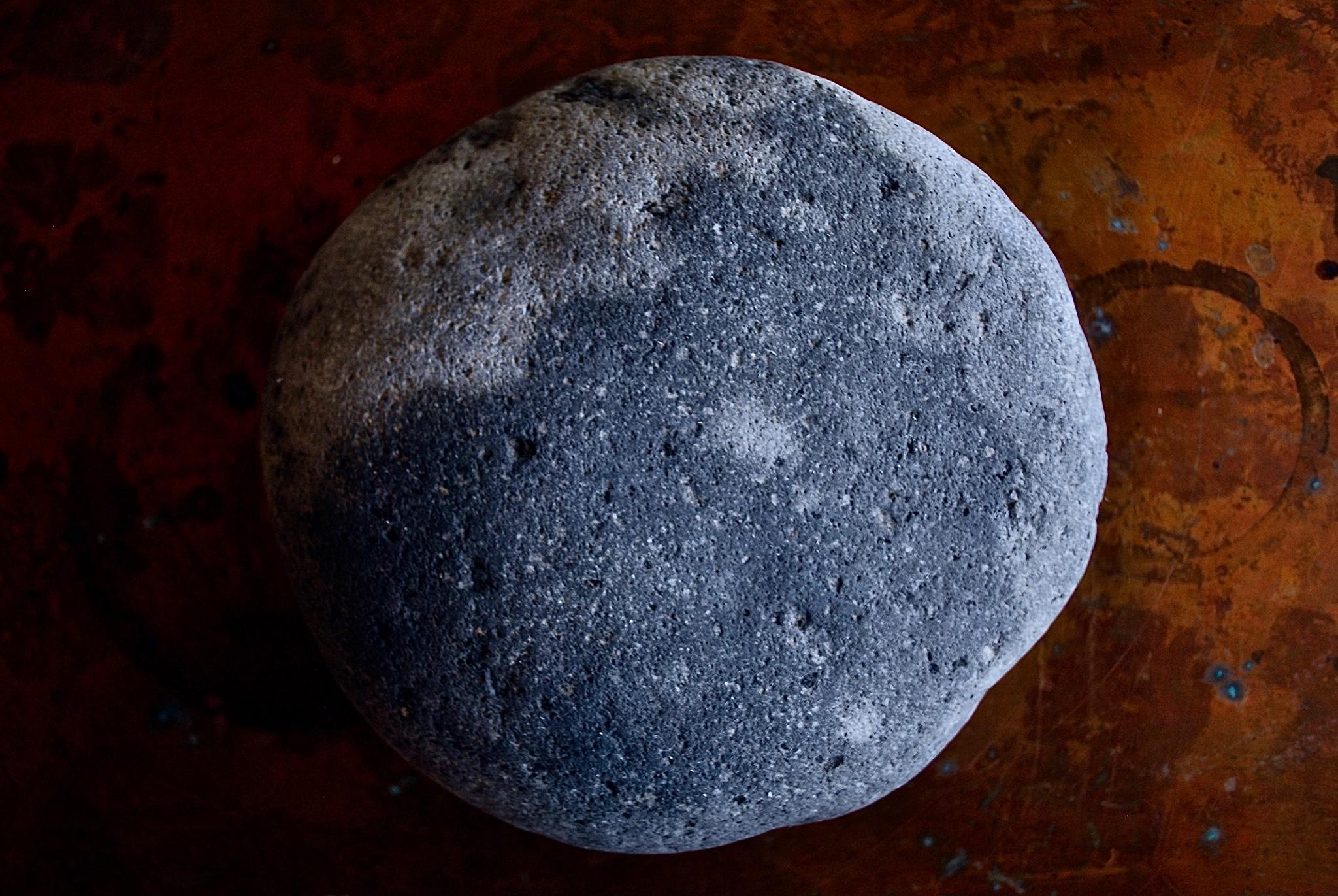丸石の作陶