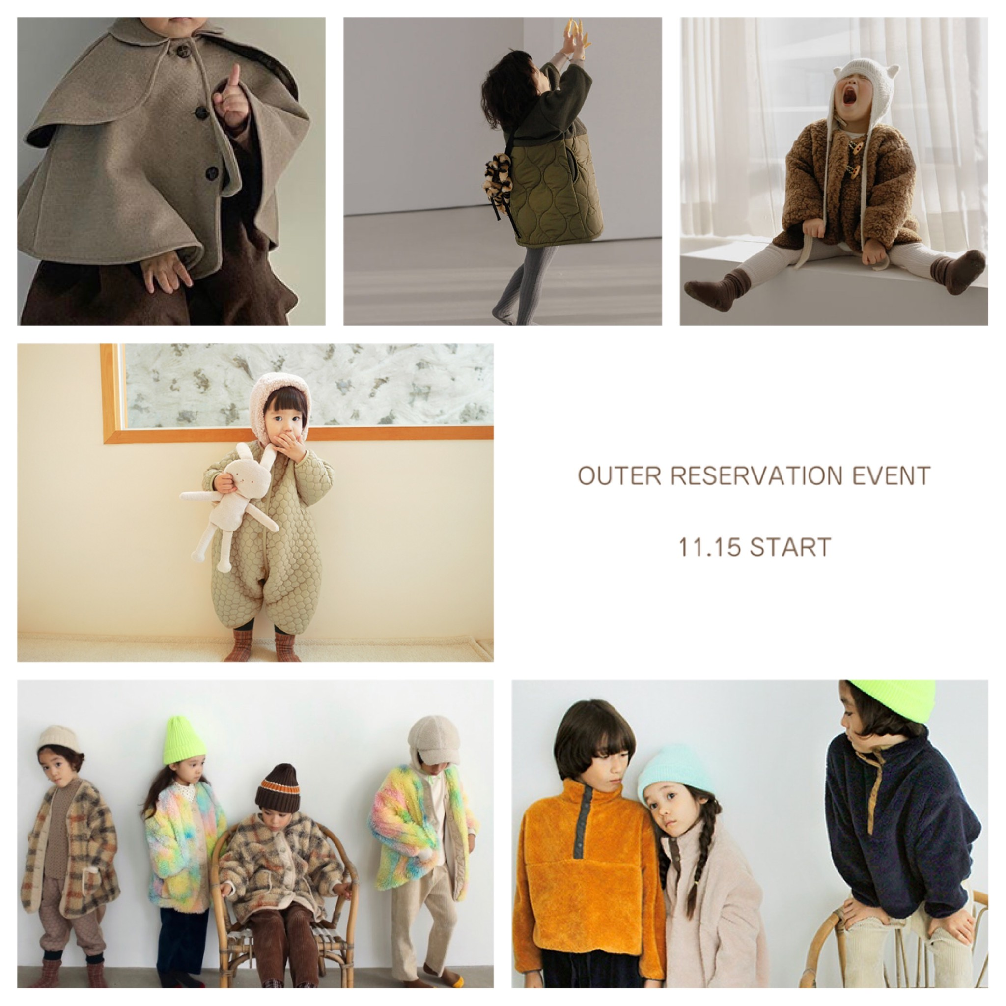 OUTER RESERVATION EVENT【11.15 - 11.21】