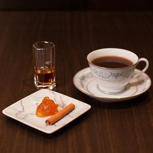 ◆ご家庭で味わえるカクテルレシピ① オー・ド・ヴィー・カフェ・ラ・オランジュのレシピ