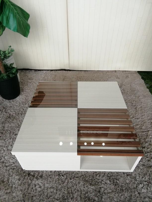 サンキコーポレーションの引き出し付きセンターテーブル「BERIT」入荷いたしました。