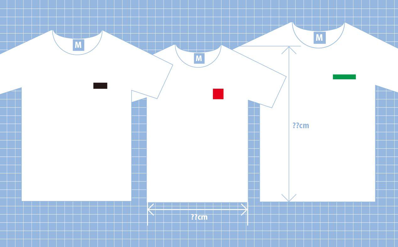 Tシャツ好きのための一目で分かるブランド別Tシャツサイズ比較表