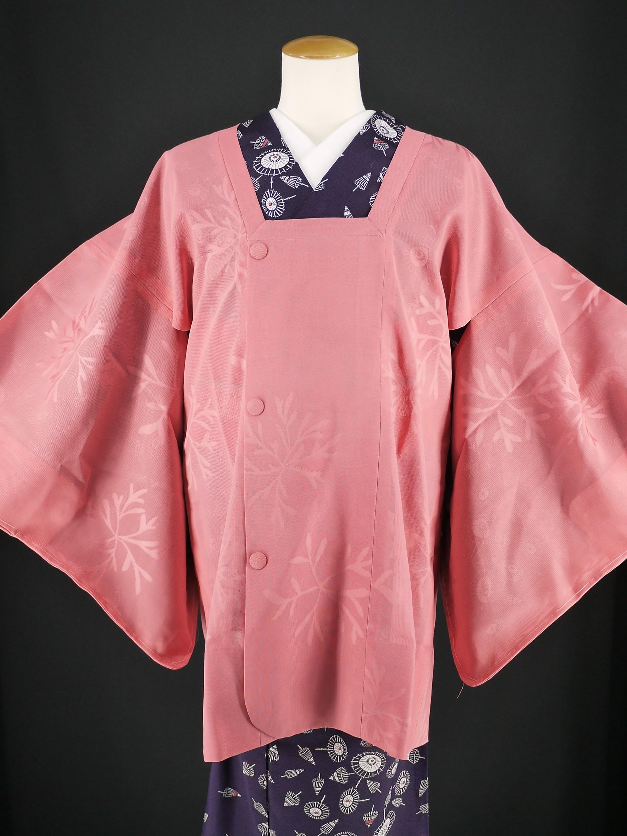 涼しげな透ける紗の夏用道行コート