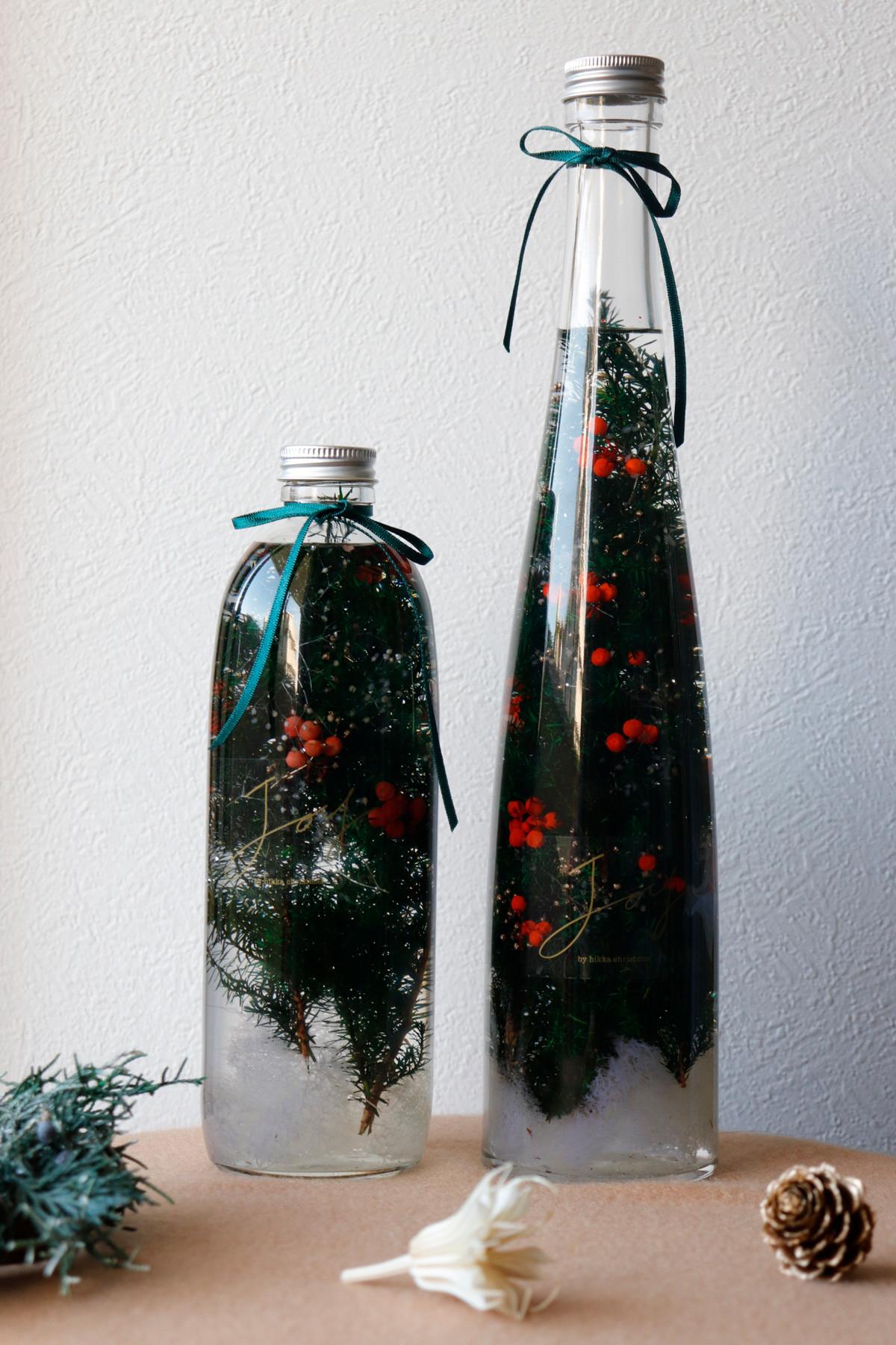 落ち着いた佇まいのクリスマスツリー