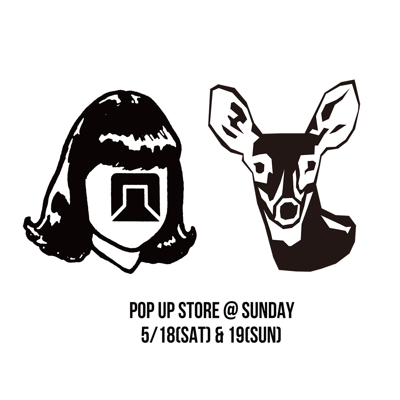 POP UP STORE @ SUNDAY