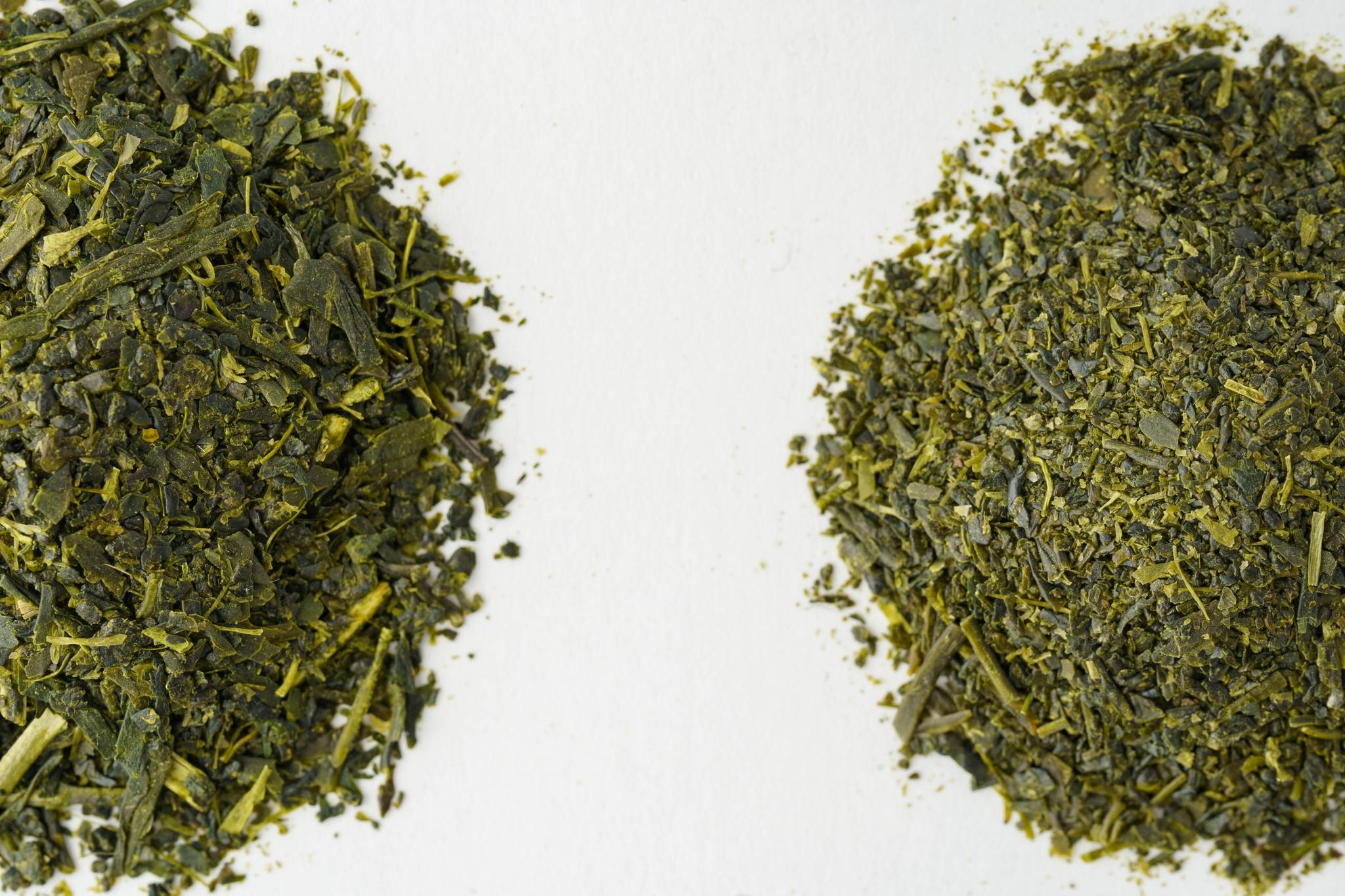 ティーバッグ専用の深蒸し茶