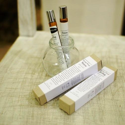 パルスポイントから香る癒しの香り