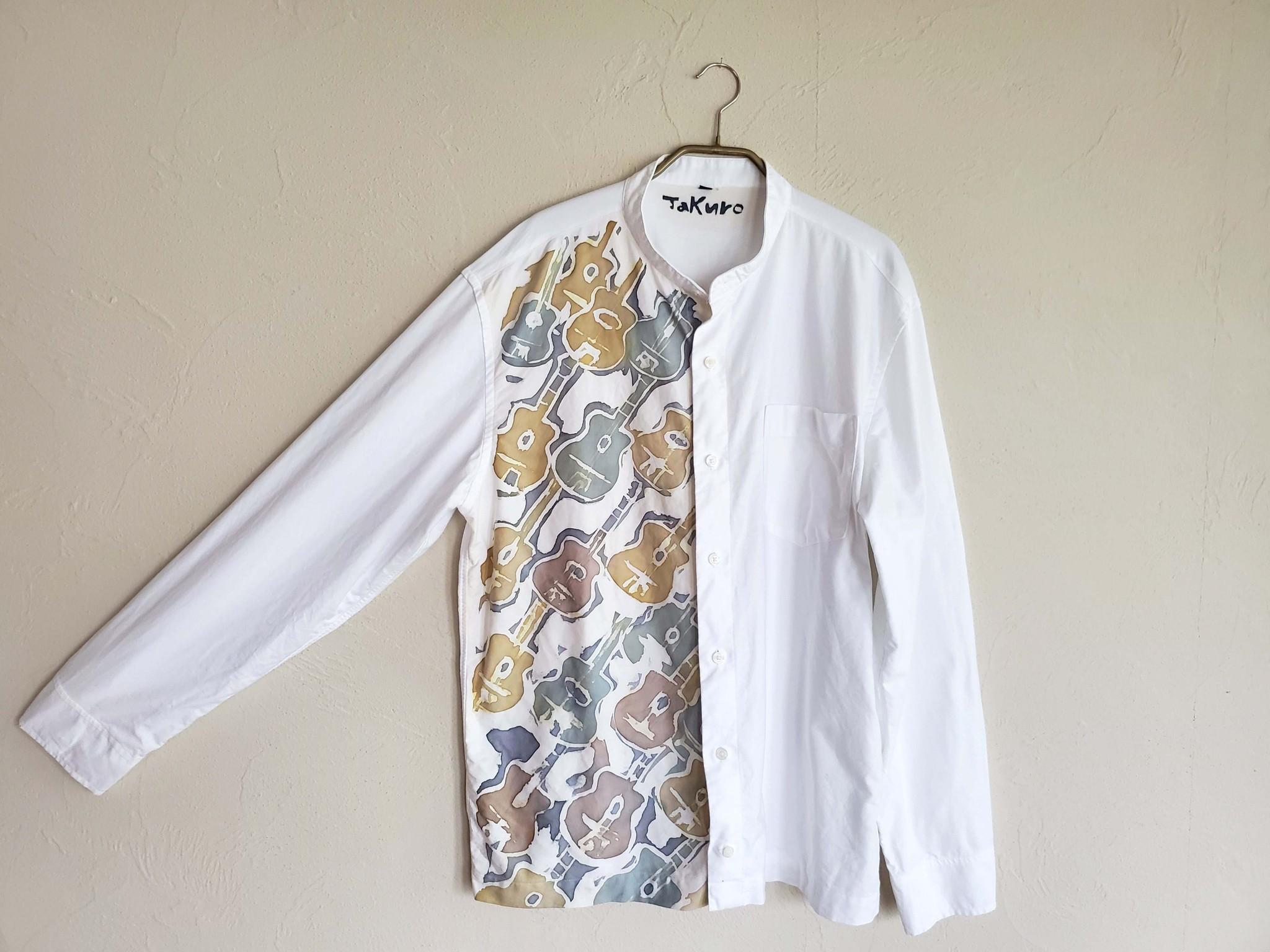TAKUROZOMEの世界に一点だけの染めモノシャツ ジプシージャズ柄